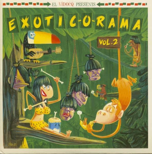 Exotic-O-Rama Vol.2 (LP & CD)