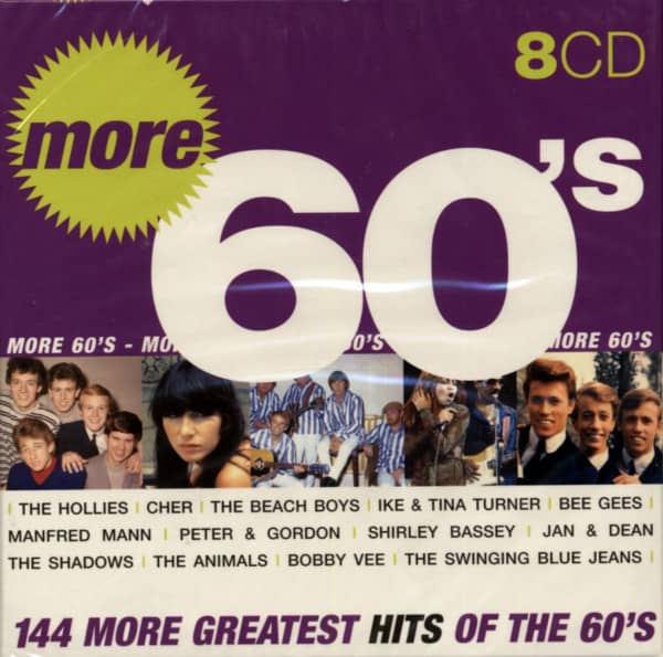 More Greatest Hits Of The 60s (8-CD)