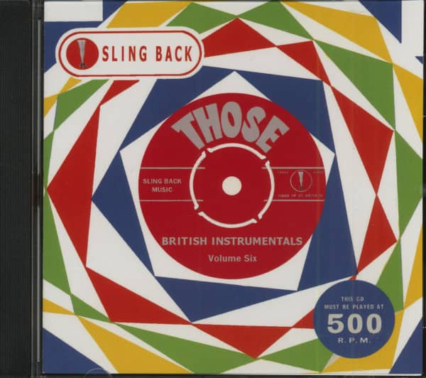 Those British Instrumentals Vol.6 (CD)