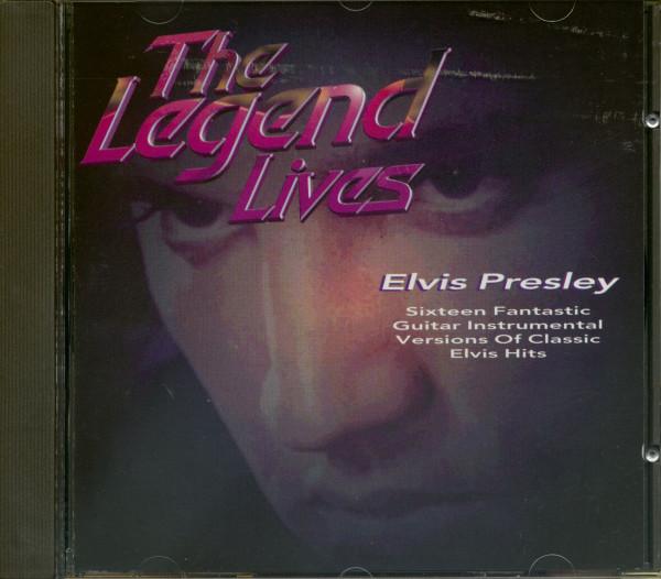 The Legend Lives Elvis Presley (CD)