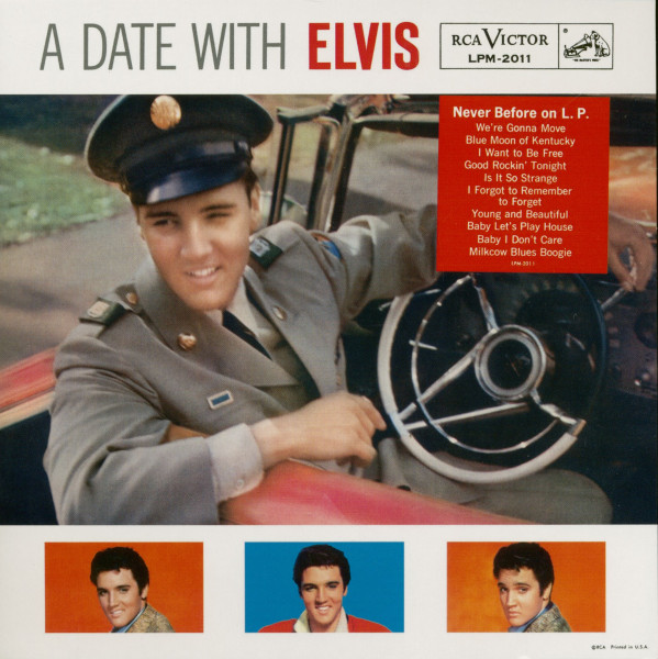 A Date With Elvis (2-CD) 7inch Deluxe Edition