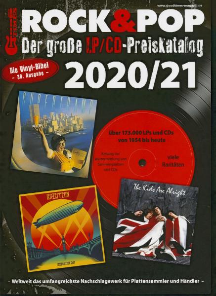 Der große Rock & Pop LP/CD Preiskatalog 2020-21