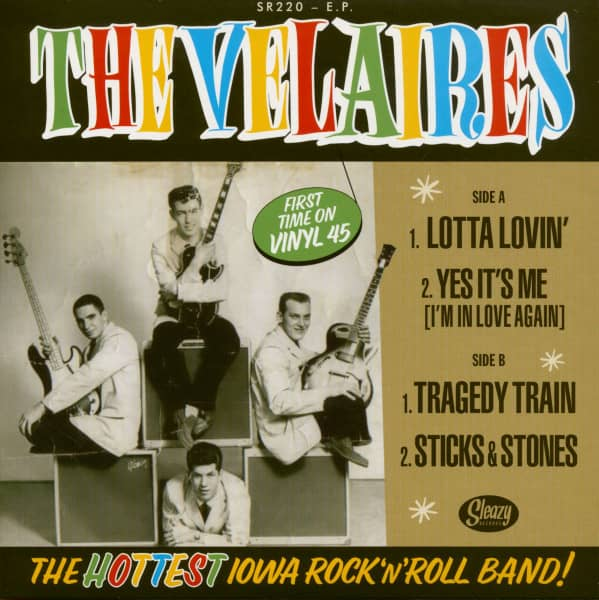 The Velaires (7inch, EP 45rpm)