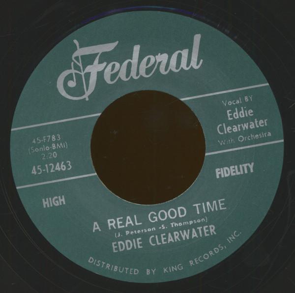 A Real Good Time - Hey Bernadine (7inch, 45rpm)