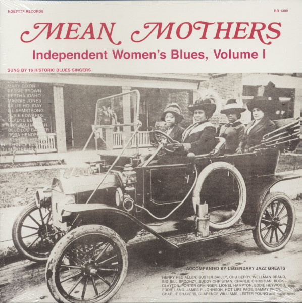 Mean Mothers - Independent Women's Blues,, Vol.1 (LP)