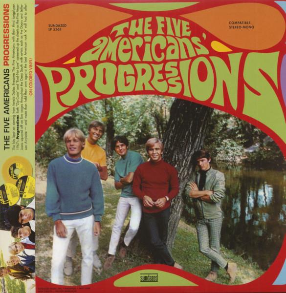 Progressions (LP, Colored Vinyl)