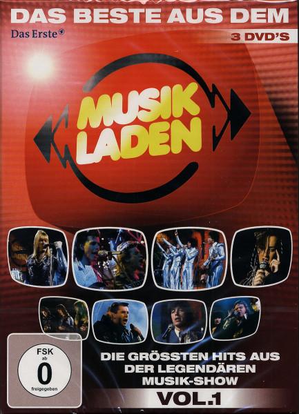 Das Beste aus dem Musikladen Vol.1 - Die größten Hits aus der legendären Musik-Show (3-DVD)