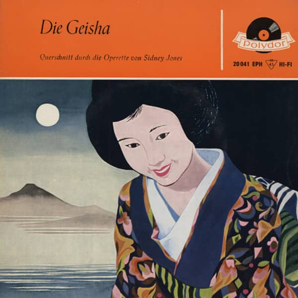 Die Geisha - Querschnitt 7inch, 45rpm, EP, PS