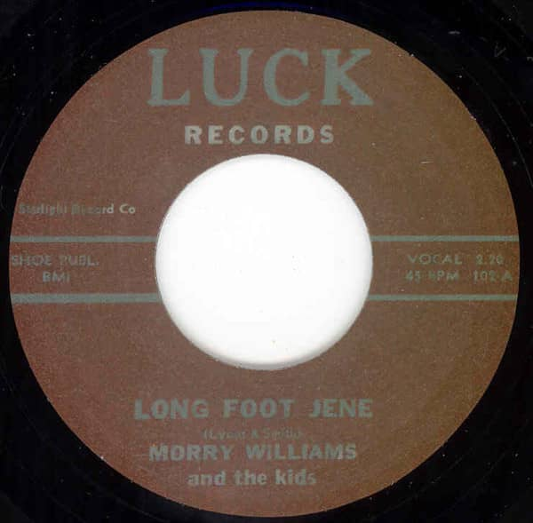 Long Foot Jene - Time Runs Out 7inch, 45rpm