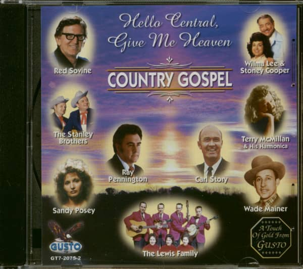 Hello Central Give Me Heaven - Country Gospel (CD)