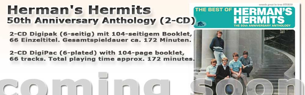 Herman's Hermits 50th Anniversary Anthology (2-CD)