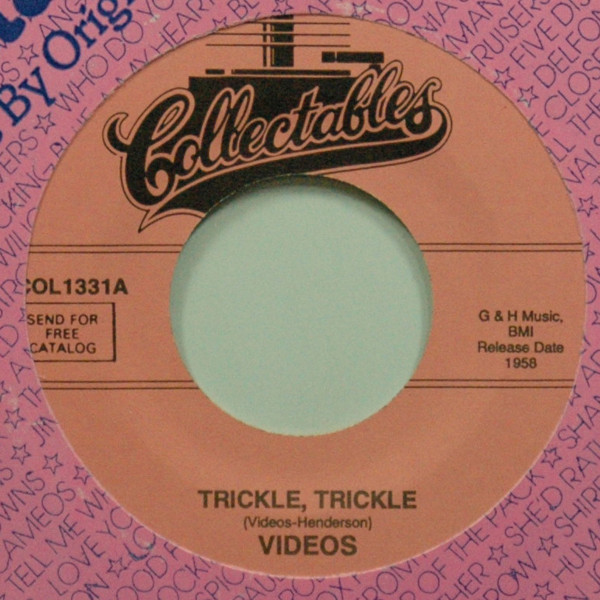 Trickle, Trickle b-w Moonglow You Know 7inch, 45rpm