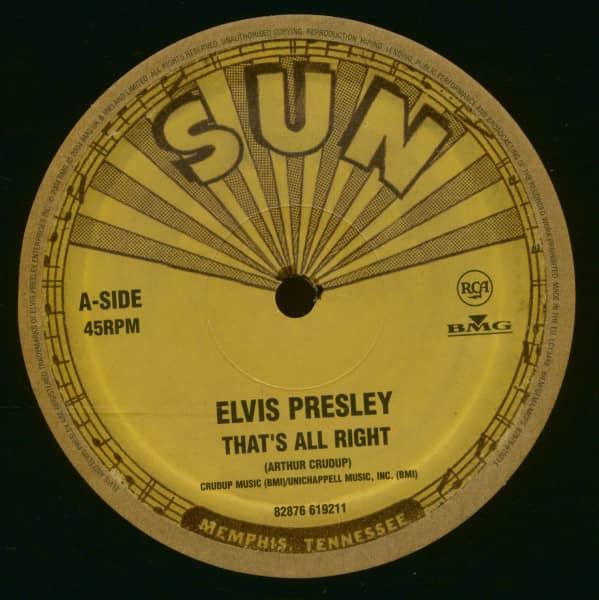 That's All Right - Blue Moon Of Kentucky (10inch Vinyl, 45rpm, Ltd.)