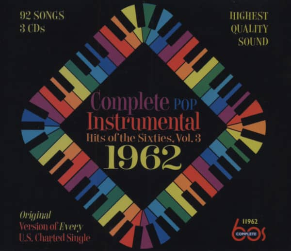 Complete Pop Instrumental Hits - 1962 (3-CD)