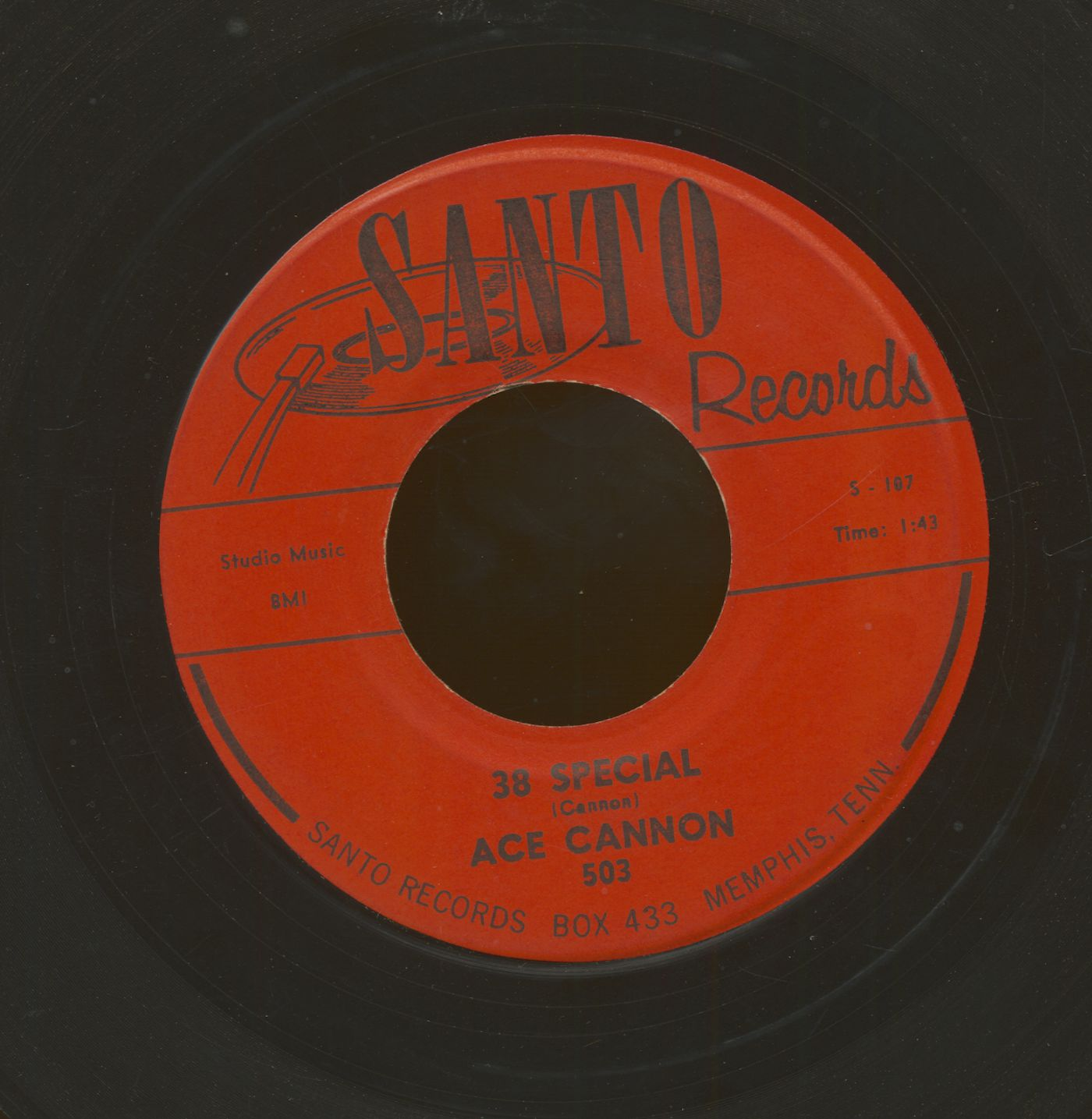 Ace Cannon Sugar Blues - 38 Special (7inch, 45rpm)