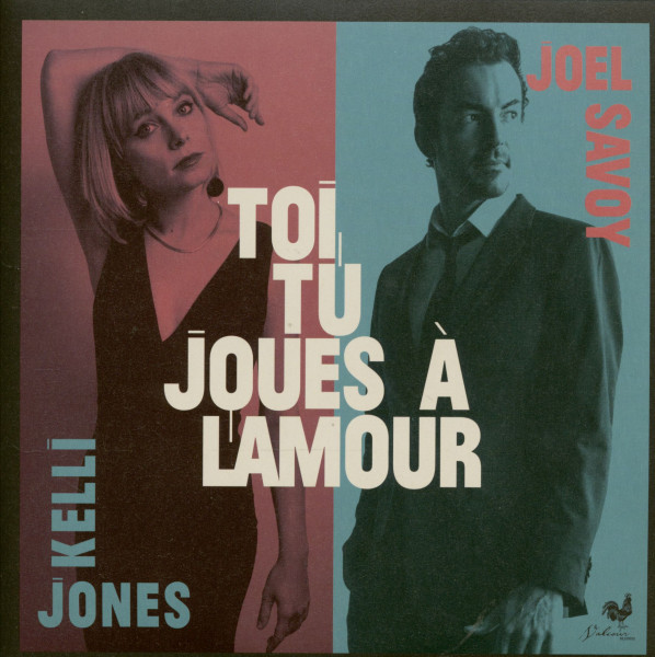 Toi, Tu Joues a L'Amour - The Attakapas Trail (7inch, 45rpm, PS)