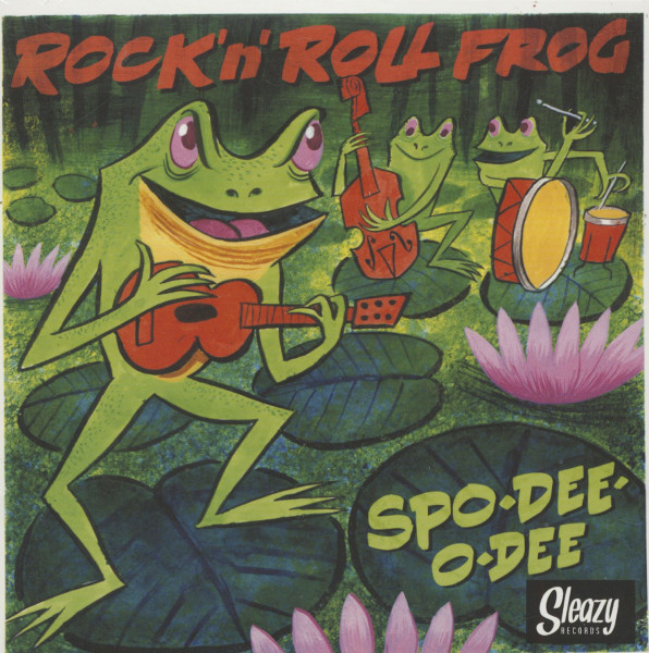 Rock 'n' Roll Frog (7inch, 45rpm, EP, PS, BC)