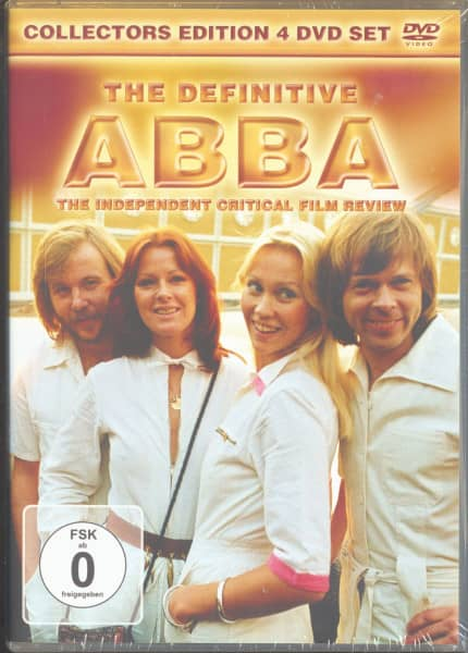 The Definitive ABBA - The Independant Critical Film Review (4-DVD)