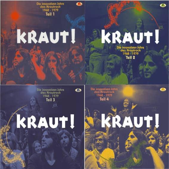 Teil 1-4 - KRAUT! - Die innovativen Jahre des Krautrock 1968-1979 (8-CD)