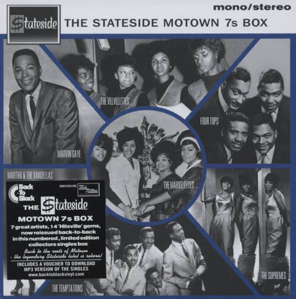 The Stateside Motown 7inch s Vinyl Box (7x7inch, 45rpm Box)