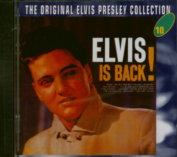Elvis Is Back! - The Original Collection #10 (CD)