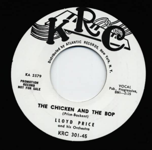 The Chicken And The Bop b-w Such A Mess 7inch, 45rpm