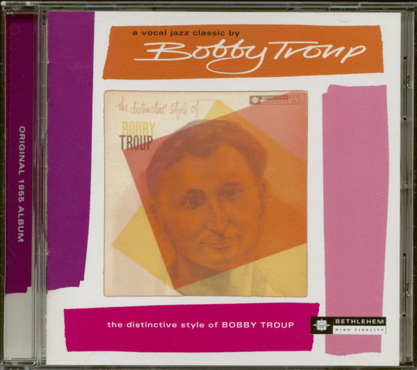 The Distinctive Style Of Bobby Troup (CD)