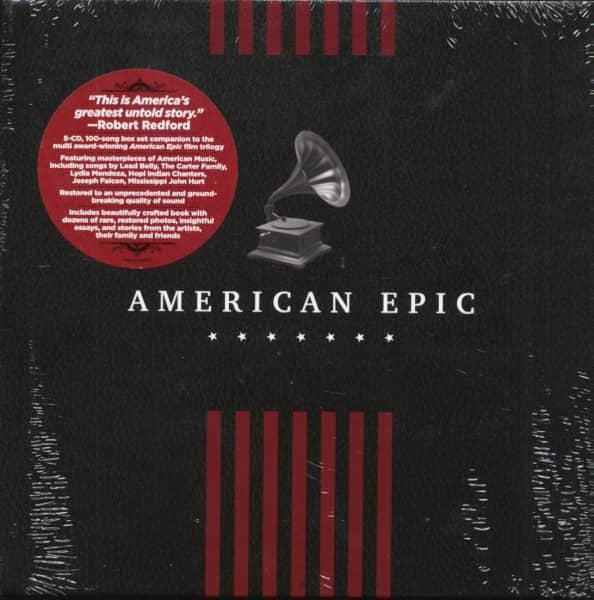 American Epic (5-CD-Book Set)