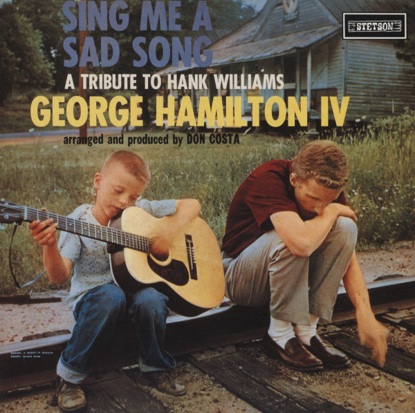 Sing Me A Sad Song - Tribute To Hank Williams (1958) reissue Vinyl LP