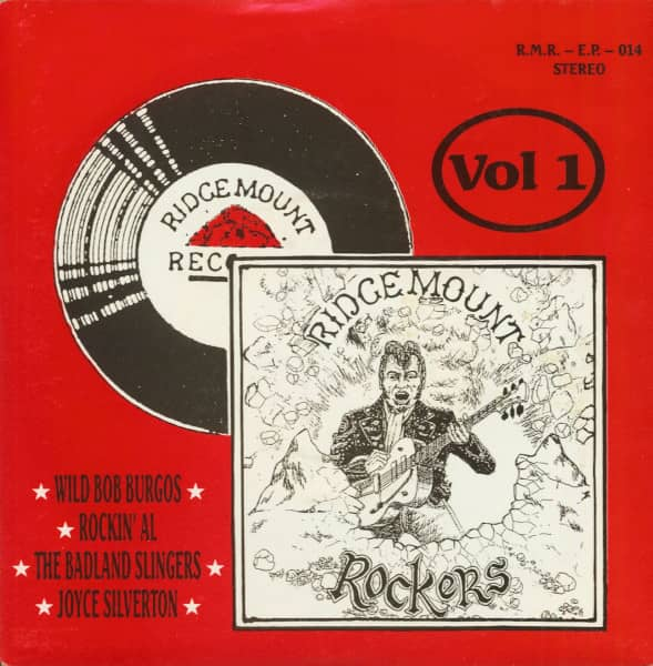 Ridgemount Rockers Vol.1 (7inch, EP, 45rpm, PS, SC, Ltd.)