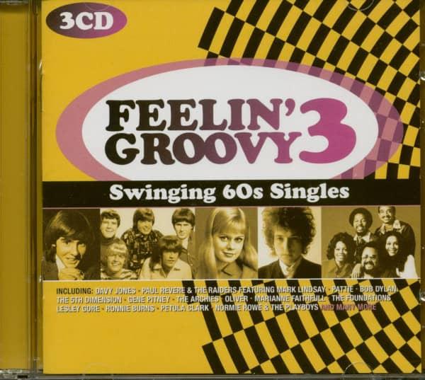 Feelin' Groovy 3 - Swinging 60s Singles (3-CD)