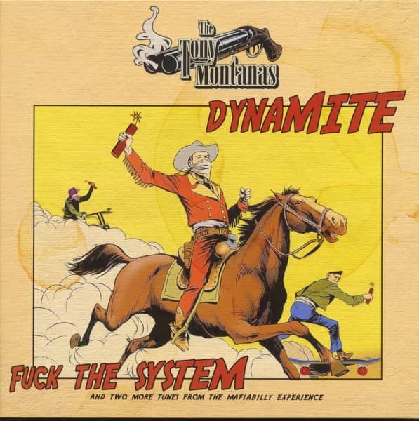 Dynamite - Fuck The System (12inch EP, 45rpm, Ltd.)