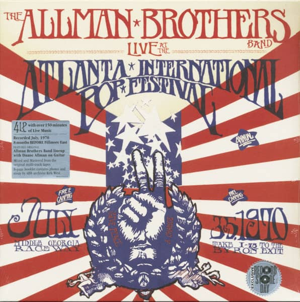 Live At The Atlanta International Pop Festival 1970 (4-LP, Deluxe Record Store Day Edition, Ltd. & Numbered)