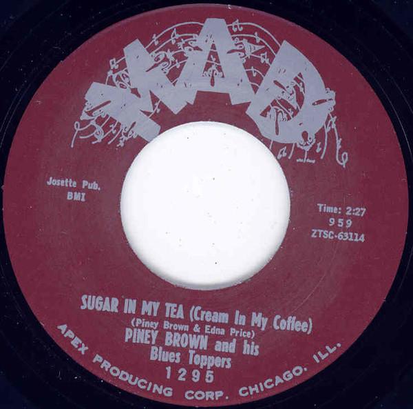 Sugar In My Tea - My Love 7inch, 45rpm