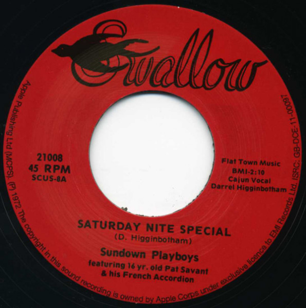 Saturday Nite Special - Valse De Soleil.. 7inch, 45rpm