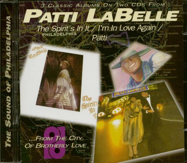 The Spirit's In It - I'm In Love Again - Patti (2-CD)