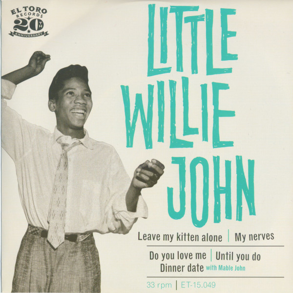 Little Willie John (EP, 7inch, 33rpm, SC, PS)