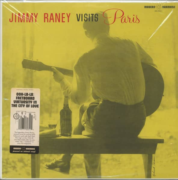 Jimmy Raney Visits Paris (LP, Red Vinyl)