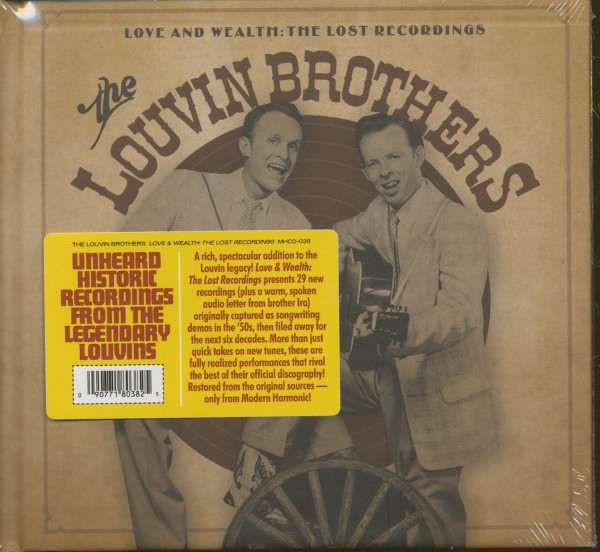 Love And Wealth - The Lost Recordings (2-CD)