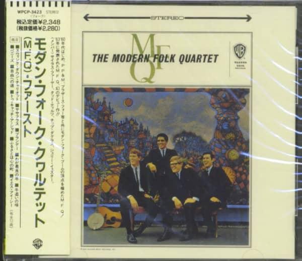 The Modern Folk Quartet (CD, Japan)