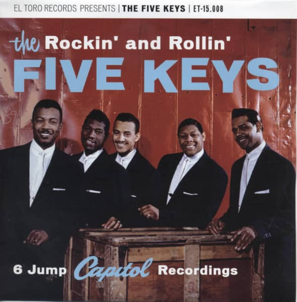 Rockin' And Rollin' 33rpm, EP, PS, SC - blue wax
