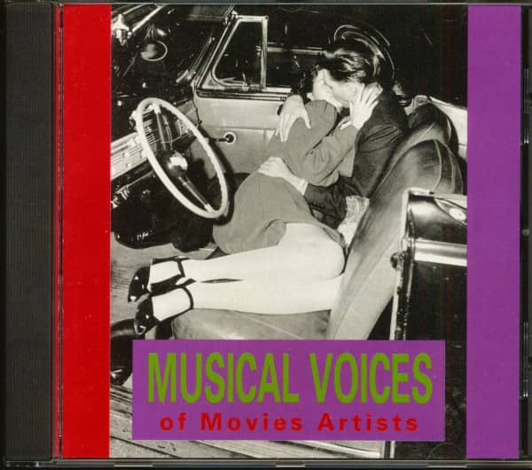 Musical Voices Of Movie Artists (CD)