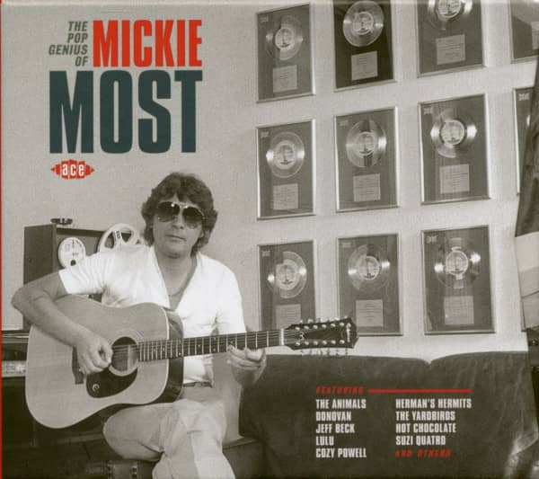 The Pop Genius Of Mickie Most (CD)