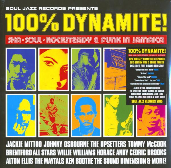 Soul Jazz Presents - 100% Dynamite (2-LP, 180 Gram Vinyl)