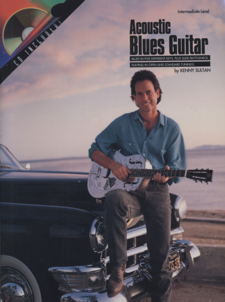 Acoustic Blues Guitar (Book & CD)