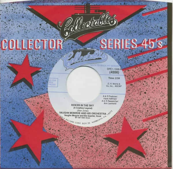 Riders In The Sky (A Cowboy Legend) - Ballerina (7inch, 45rpm, BC, CS)
