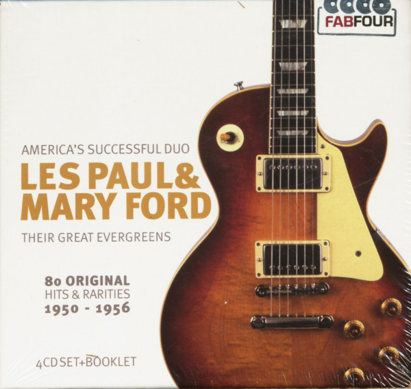 Their Great Evergreens - 80 Original Hits & Rarities 1950-1956 (4-CD)