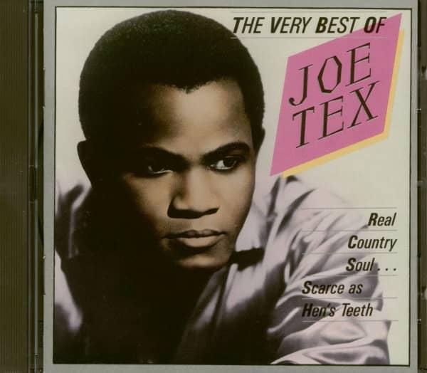 The Very Best Of Joe Tex (CD)
