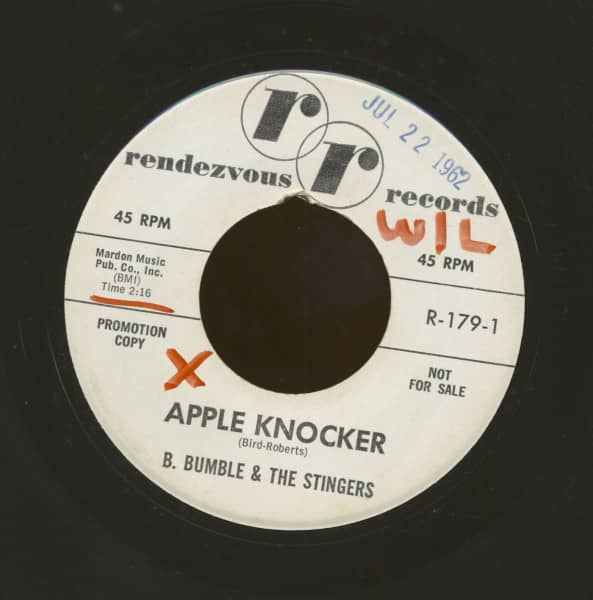Apple Knocker b-w The Moon And The Sea (7inch, 45rpm)