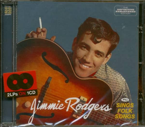 Jimmie Rodgers Plus Sings Folk Songs (CD)